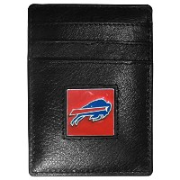NFL Buffalo Billsレザーマネークリップ/ Cardholder Packaged inギフトボックス