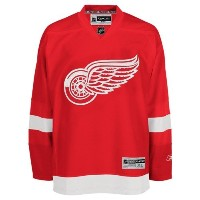 NHLリーボックDetroitレッドWings Premier Home No Name Jersey / Small