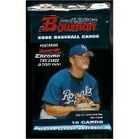 2006Bowman Baseball Cards Unopened趣味パック( 10カード1パックIncluding 2Bowman Rookies & 2Bowman Chrome...