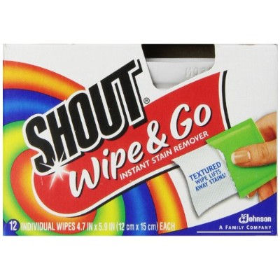 Shout Wipes 12-Count (Pack of 12) (並行輸入品)