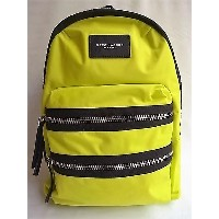 "MARC JACOBS(マーク ジェイコブス)【DOMO ARIGATO BACKPACK】""NYLON""BACK PACK☆SULPHUR YELLOW☆"