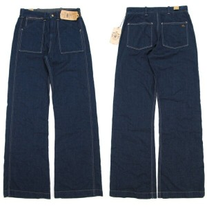 "RRL (double RL) ""U.S.Navy"" type Fatigue Denim Pants"