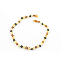 Healing Hazel 100% Balticamber Baby Necklace, Multi Raw by Healing Hazel