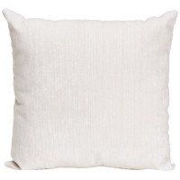 Sweet Potato White Velvet Pillow, Swizzle by Sweet Potatoes