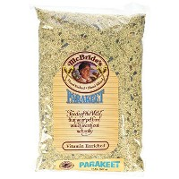 Kaylor Made McBride Vitamin Enriched Parakeet White Proso Milet Canary Seed 2lbs