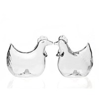 Rooster Salt and Pepper by Studio Silversmith