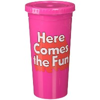 ban.do バンドゥー タンブラー SIP SIP TUMBLER WITH STRAW here comes the fun
