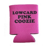 【LOWCARD】ローカード【LOWCARD PINK COOZIE】クージー【缶クージー】SKATEBOARD【スケボー】ドリンククーラー【ネコポス対応可】