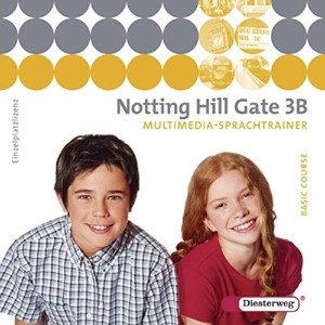 Notting Hill Gate 3 B. Multimedia-Sprachtrainer CD-ROM: Multimedia-Sprachtrainer 3B - Einzelplatzliz...