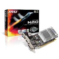 MSI GeForce 210 512 MB ddr3 TurboCache 1 GB VGA / DVI / HDMIグラフィックスカード( PCI Express x16 2.0 N210...