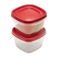 Rubbermaid Easy Find Lid Food Storage Set, 2 Cup, 4 Piece set by Rubbermaid