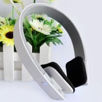 White AEC Echo Cancellation Wireless Bluetooth Headphones 3.0 Stereo Earphone, Adjustable Over-the...