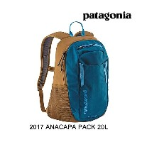 2017 PATAGONIA パタゴニア バックパック ANACAPA PACK 20L BSRB BIG SUR BLUE