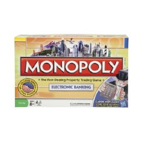 【Monopoly Electronic Banking Edition / モノポリー エレクトロニック・バンキング (イギリス版)】 b000oolnty
