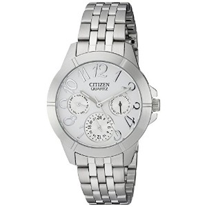 [シチズン]Citizen 腕時計 Chronograph Silver Dial Quartz Watch - ED8100-51A レディース [逆輸入]