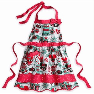 Disney(ディズニー)Mickey Mouse Holiday Apron for Adults  ミッキー・マウスのエプロン (大人用) 【並行輸入品】