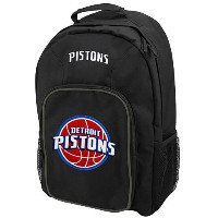 NBA チームロゴ バックパック ピストンズ(ジュニア) Detroit Pistons Black Youth Southpaw Backpack
