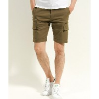 【AKM】EASY SLACKS SHORTS ショーツ
