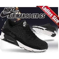 【ナイキ エアマックス 90 GS】NIKE AIR MAX 90 LTR GS Black Jimmy Jazz