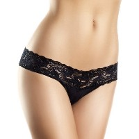Be Wicked BW1160 Lace Panties. S Yellow