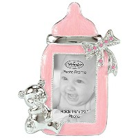 Brownlow Kitchen Baby Girl Bottle Frame, Pink by Brownlow Kitchen