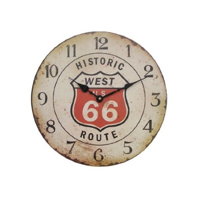 Route66 カフェクロック