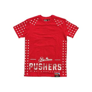 【 POST GAME 】 PUSHERS 2.0 SPEED TEE [RED] / ポストゲーム プッシャー 2.0 スピード Tシャツ