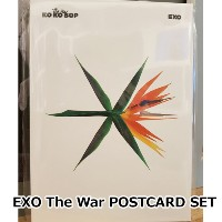 EXO The War POSTCARD SET 「SUM」