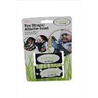 Simply on Board Toy Strap, Black by Simply on Board