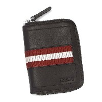 バリー BALLY 小銭入れ コインケース TRAINSPOTTING TEBIOT COIN PURSE CHOCOLATE RED/WHITE BRH2【ポイント10倍】