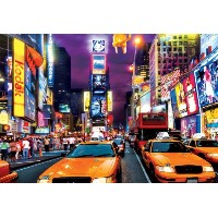 【送料無料】【[バッファローゲーム]Buffalo Games Large Piece: Times Square 1000 Piece Jigsaw Puzzle by 11541 [並行輸入品]...
