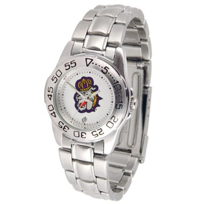 James Madison Dukes GamedayスポーツLadies ' Watch with aメタルバンド
