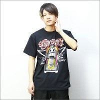 AEROSMITH Tシャツ LET THE MUSIC JUKEBOX 黒