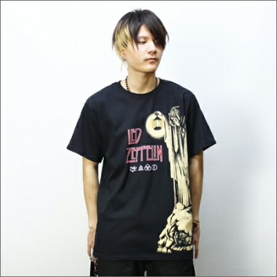 LED ZEPPELIN Tシャツ HERMIT 黒