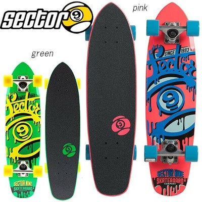 SECTOR 9 CRUISER SERIES 95 NINETY FIVE Complete FF141C セクターナイン スケートボード コンプリート