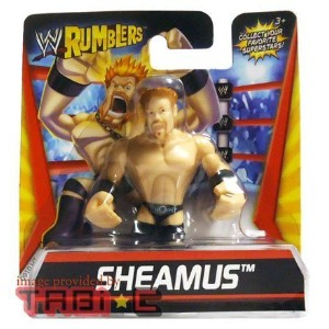 【送料無料】【WWE Wrestling Rumblers Mini Figure Sheamus】 b006449vug