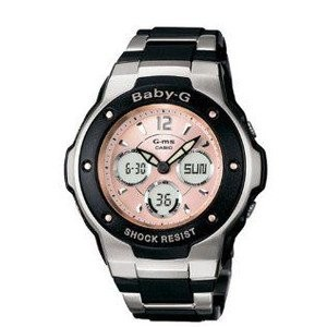 腕時計 カシオ Casio Women's MSG300C-1B Baby-G G-MS Cool and Tough Ana-Digi Watch [並行輸入品]