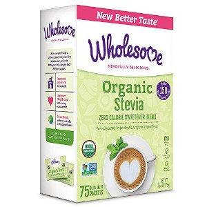 Wholesome Sweeteners オーガニック ステビア(75Packets)[海外直送品][並行輸入品]