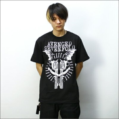 ◎AVENGED SEVENFOLD Tシャツ GUN 黒