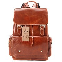 [アメリカ直送] S-ZONE Women s Daily Genuine Leather Casual Backpack Bag