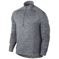 ナイキ メンズ ジャケット&ブルゾン アウター Men's Nike Dri-FIT Element Sphere 1/2 Zip Cool Grey/Heather/Wolf Grey...