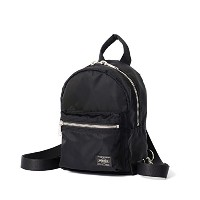 (ヘッド・ポーター) HEAD PORTER | U-BAHN | 2WAY MINI SHOULDER (BLACK)