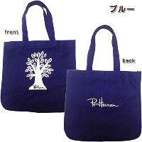Ron Herman(ロンハーマン)Exclusive RHC Tote Bag smile トートバック キャンバス バック 男女兼用 ブルー
