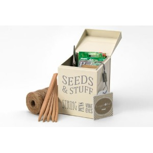 [OUTLET] | Burgon & Ball | GYO/SEEDCREAM ブリキ缶 SEEDS & STUFF TIN | バーゴン&ボール