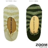 ZOOM ズーム Pumps Cover ボーダー