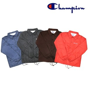 【4 COLORS】CHAMPION(チャンピオン)【MADE IN U.S.A.】 COACH JAKET(アメリカ製 コーチジャケット)
