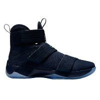 "Nike LeBron Soldier 10 X ""Midnight Navy""メンズMidnight Navy/Game Royal ナイキ バッシュ ズームソルジャー レブロンジェームス"