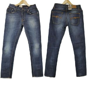 NUDIE JEANS / TAPE TED ORG AUTHENTIC SNAKE ヌーディージーンズ テープテッド