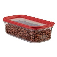 Rubbermaid 1840747 5-Cup Modular Dry Food Storage Zylar Container by Rubbermaid