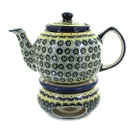 ポーランド食器Renaissance Teapot with Warmer